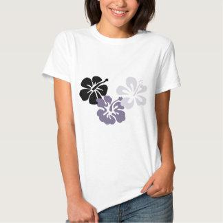 aloha hibiscus das cinzas do mahalo t-shirts
