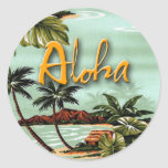 Aloha ilha adesivos