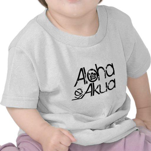 Aloha KE Akua - o deus é amor Camisetas