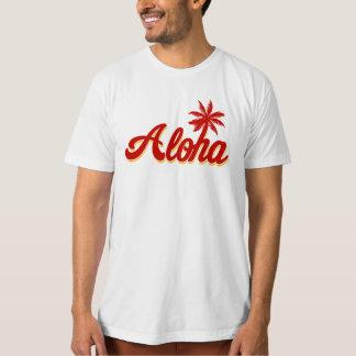 Aloha T da palmeira de Havaí T-shirt