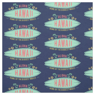 Aloha tecido havaiano do costume do surfista