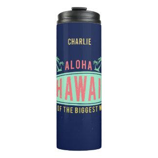 Aloha tumbler conhecido feito sob encomenda do