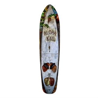 Aloha VOCÊ skate tropical