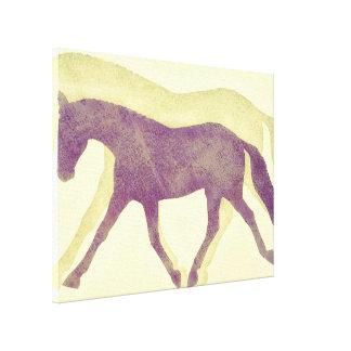 ALONGUE o impressão das canvas do TROTE 24 x 18