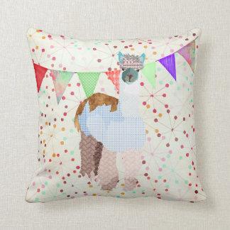 Alpaca Abstract Art  Mojo Pillow
