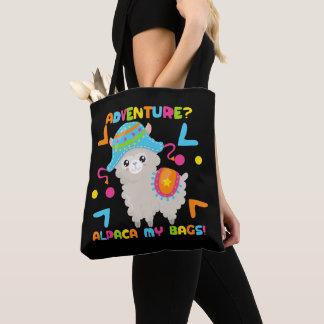 Alpaca da aventura meu humor das bolsas
