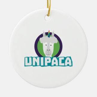 Alpaca Z67aj do unicórnio de Unipaca Ornamento De Cerâmica