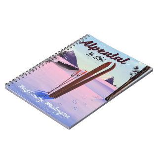 Alpental posudo do esqui de King County, Cadernos
