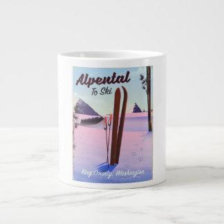 Alpental posudo do esqui de King County, Caneca De Café Grande
