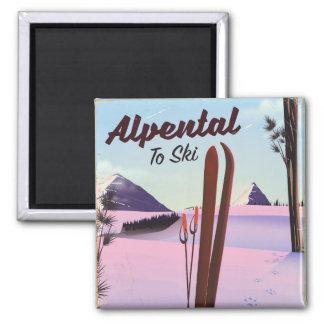 Alpental posudo do esqui de King County, Imã