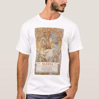 Alphonse Mucha - camisa de Slavia