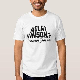 Alpinismo de Vinson da montagem Camisetas