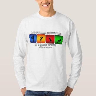 Alpinismo legal é um modo de vida camiseta