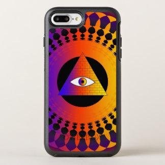 Alternativo do olho de Illuminati Capa Para iPhone 8 Plus/7 Plus OtterBox Symmetry