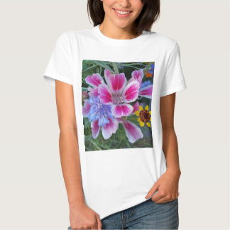 Althaea, cornflower & chamomilla t-shirt