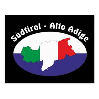 Alto Adige - Alto Adige Itália - Italia cartão