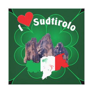 Alto Adige - Alto Adige Itália - Italia linho Impressão Em Tela
