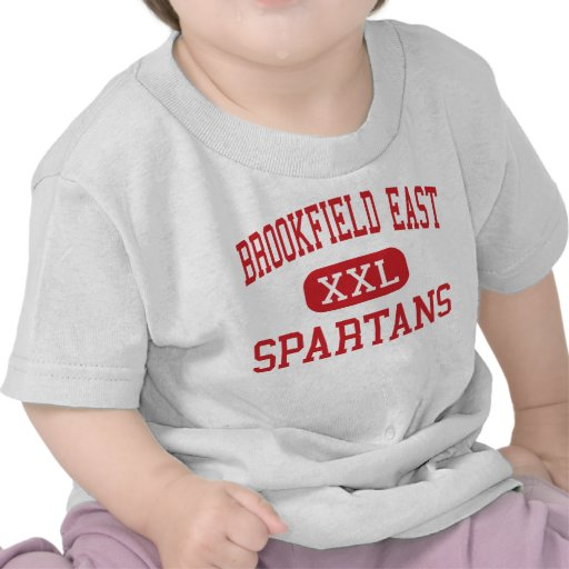 Alto do leste de Brookfield - Spartans - - Tshirt