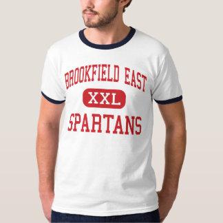 Alto do leste de Brookfield - Spartans - - T-shirt
