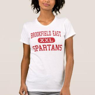 Alto do leste de Brookfield - Spartans - - Tshirts