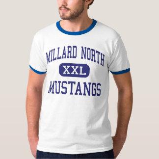 Alto norte de Millard - mustang - - Omaha Nebraska T-shirt