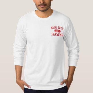Alto sul de Maine - falcões - - parque Ridge T-shirts