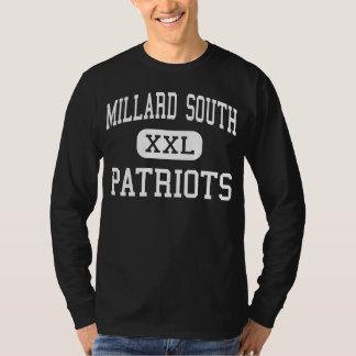 Alto sul de Millard - patriotas - - Omaha Nebraska T-shirt
