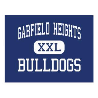 Alturas de Garfield - buldogues - altas - Clevelan Cartão Postal