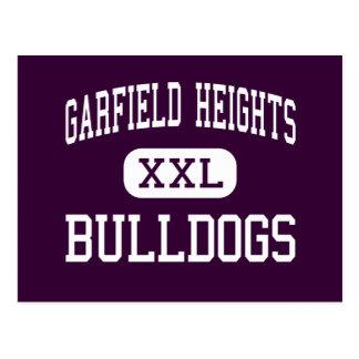 Alturas de Garfield - buldogues - alturas de Cartão Postal