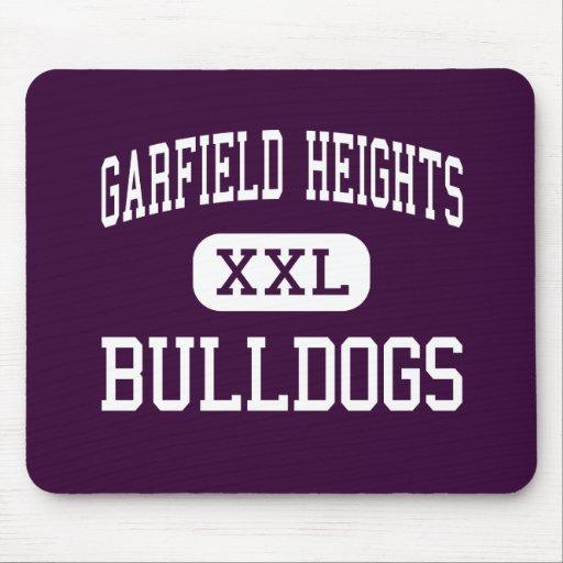 Alturas de Garfield - buldogues - alturas de Garfi Mousepad