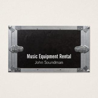aluguer de equipamentos da música cartão de visitas
