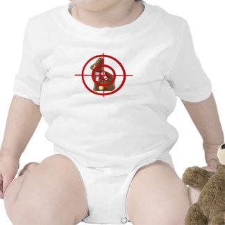 Alvo do coelhinho da Páscoa do chocolate Macacãozinho Para Bebê