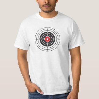 Alvo do tiro t-shirts