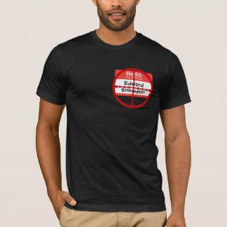 Alvo do whistleblower de PRISMA do NSA de Edward Camiseta