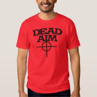 alvo inoperante com alvo da vista t-shirt
