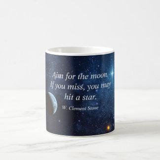 Alvo para a caneca da lua