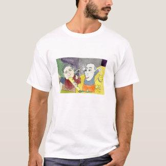 Alvorecer do t-shirt do branco do Serendipity Camiseta