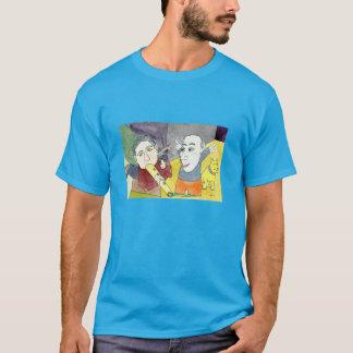Alvorecer do t-shirt do Serendipity em cores Camiseta
