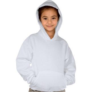 Am que vai ser um surfista ao hoodie da menina moletom com capuz