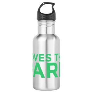 Ama a garrafa de água do parque