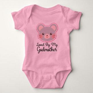Amado por meu t-shirt do bebé da madrinha body para bebê
