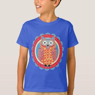 Amante bonito do pássaro de Hoo Hoo da coruja Camiseta