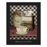 Amante Café do café Poster