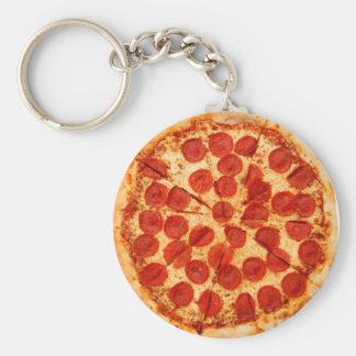 amante clássico da pizza chaveiro
