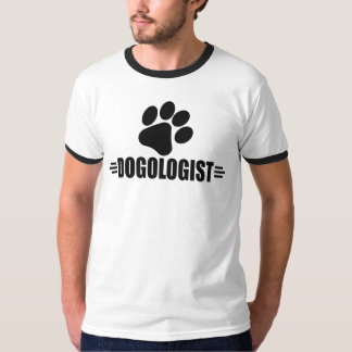 Amante cómico do cão camiseta