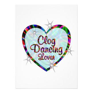 Amante da dança de obstrução convites personalizado