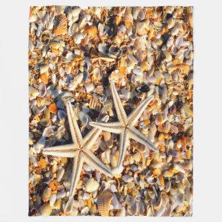 Amante da estrela do mar cobertor de velo