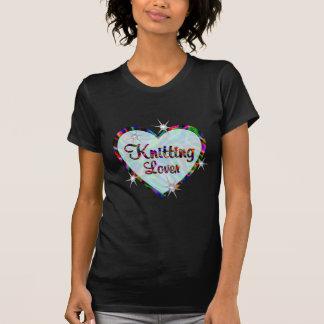 Amante de confecção de malhas camiseta