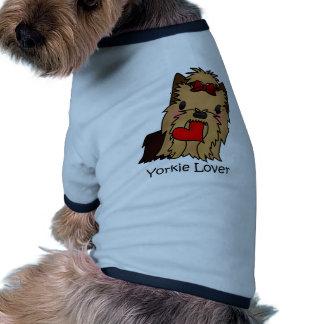 Amante de Yorkie, yorkshire terrier Roupas Para Pet