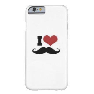 Amante do bigode capa barely there para iPhone 6